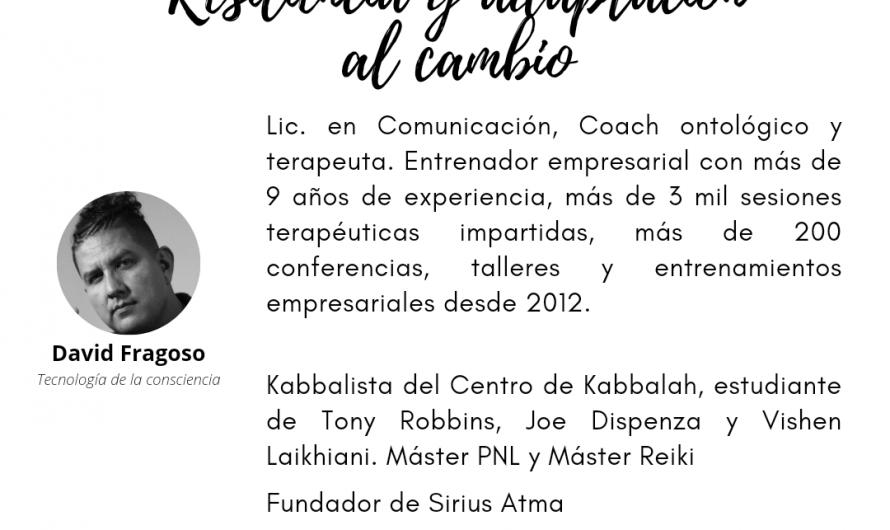 Conferencia eRyla 2021 de David Fragoso